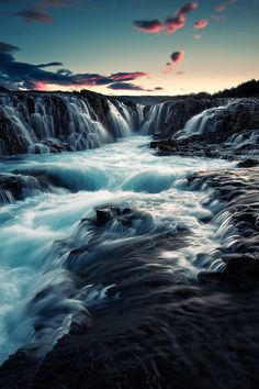 ~~:: Brúarfoss :: ~ waterfall! Iceland by Mindcage Photography~~