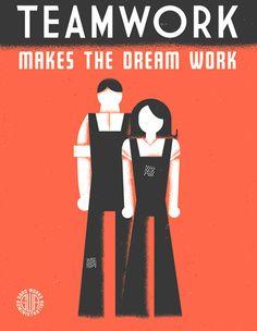 Dan Cassaro: GOOD Magazine WPA Posters
