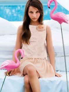 Liu-Jo SS14 moda de verano para niñas llena de color http://www.minimoda.es
