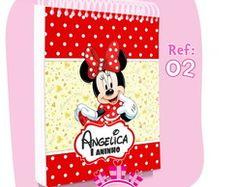 Bloquinhos Personalizados - Festa Minnie