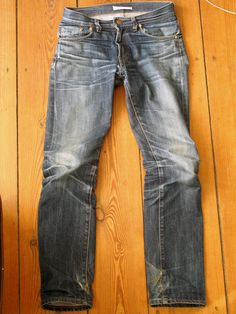 Two years & four washes... Levi's Vintage 1967 505's