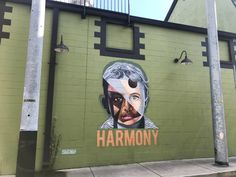 Harmony | Nashville Guru Mural by Ty Christian 1120 4th Avenue North, Nashville, TN 37208 Nashville Murals, Neon Signs, Christian, Cool Stuff, Pictures, Image, Art, Photos, Art Background