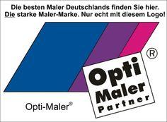 Die besten Maler Deutschlands finden Sie hier. Die starke Maler-Marke. www.Opti-Maler-Partner.de Nur echt mit diesem Logo!