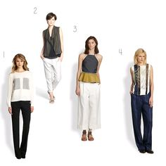 Fash365: Wear To Live: 3.19.2014 Rock your 'look' with pants suited for YOUR body.