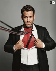 Ryan Reynolds opens up about his passion project, Deadpool, as GQ's Man of the Year 2016