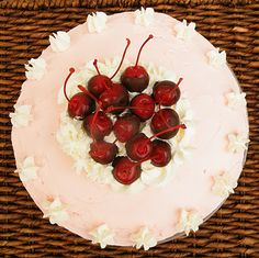 chocolate chip cherry cake