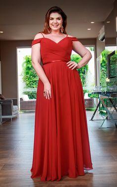 Vestidos Plus size 2020 Bridesmaid Dresses Plus Size, Evening Dresses Plus Size, Plus Size Dresses, Plus Size Summer Outfit, Plus Size Fashion Tips, Curvy Dress, Fat Women, Curvy Fashion, Plus Size Women