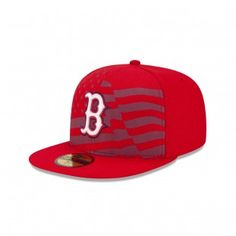 New Era Boston Red Sox Stars And Stripes 59Fifty Fitted Hat (Red) Cubs Gear f863c55fb2e6
