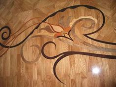 Example Picture of Close up of custom floor inlay. Designer-provided images were used to match glass door design, Photos of custom Wood floors, medallions, inlays, borders and parquet. Wood Floor Design, Wood Floor Pattern, Door Design, House Design, Floor Patterns, Design Patterns, Design Ideas, Modern Flooring, Grey Tiles