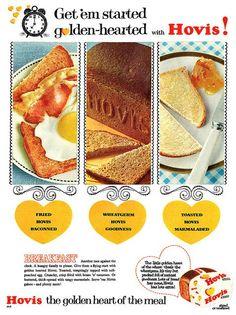 Vintage Hovis bread ad (1960s)