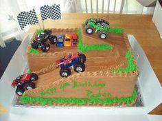birthday cakes monster trucks   Monster Truck Cakes – Decoration Ideas