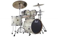 New & Factory Sealed Pearl Session Studio Classic SSC904XUP/C106 ANTIQUE IVORY Shell Pack - Includes 4 Drums Total:  24x15 Bass Drum, 12x8 Tom and 13x9 Toms w/Optimount, 16x14 Floor Tom with Legs - FREE SET OF FOUR HUMES & BERG GALAXY DRUM BAGS - FREE Ship Continental USA - Also Ships to Alaska & Hawaii! http://stores.ebay.com/music-for-all-03   http://www.musicforall.biz/