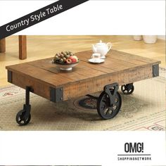 Buy this stylish coffee table! http://omgshoppingnetwork.com/  #table #furniture #Homedecor