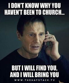 Inviting people to church