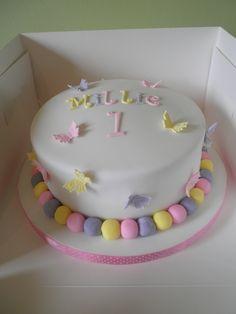 Millie's 1st Birthday Cake!