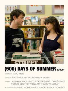 Iconic Movie Posters, Minimal Movie Posters, Iconic Movies, Film Posters, Good Movies, Movies To Watch, Movie Collage, Film Poster Design, 500 Days Of Summer
