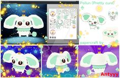 Pollun (Pretty cure) papercraft by Antyyy.deviantart.com on @DeviantArt