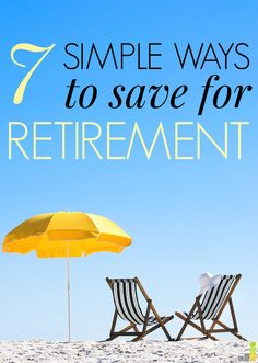 Saving for retirement can seem so intimidating, but these methods actually break it down in a way that makes it simple! I loved the fifth tip!