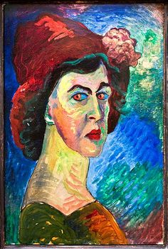 10th September. Marianne von Werefkin was a Russian Expressionist painter born on this day in 1860. http://brambleart.com/
