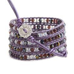 Mixed Purple Crystals on Purple