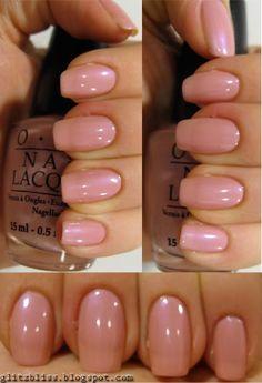 OPI Hawaiian Orchid - my HG of nail color! Love love love!
