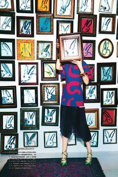 vlada roslyakova by ellen von unwerth for numéro tokyo #75 april 2014