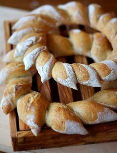solstice wreath bread