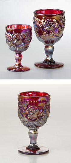 Madonna Inn signature goblets
