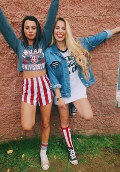 homecoming college outfits results - ImageSearch College Games, College Game Days, College Fun, College Life, Back To School Outfits, College Outfits, Outfits For Teens, Cute Outfits, Tailgate Outfit