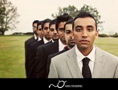Wedding poses - groomsmen