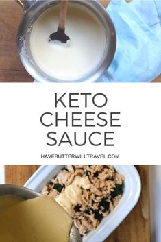 This keto cheese sau
