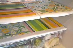 Kitchen & refrigerator organizing   Spring cleaning ideas from A Pretty Life in the Suburbs, featured on Gooseberry Patch