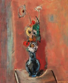 Max Weber Still Life (Flowers) 1942 Oil on canvas