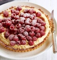 Raspberry Tart as featured on Masterchef, Carême Pastry