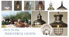 Industrial Lights - Aluminum Ship Cargo, Gabia Pendant, 90 Degree Passageway , Metal Glass Hanging Pendant, Industrial Steel Finish , Manuscript Pendant, Marine Metal Pendant, Main Hold Cargo, Topsie Pendant  http://www.ourboathouse.com/nautical-lighting/
