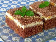 * Trasený mandarinkový moučník Tiramisu, Food And Drink, Sweets, Ethnic Recipes, Desserts, Nova, Recipes, Sheet Cakes, Bakken