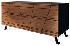 Verve-2C Sideboard modern buffets and sideboards