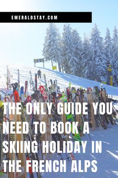 If you've never taken the whole family to France's most famous mountain range, booking a skiing holiday in the French Alps can seem overwhelming at first. French Alps, Mountain Range, Skiing, Emerald, France, Holiday, Books, Sun, Gates