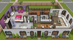 Sims freeplay house design houseboat 1 mincraft for Sims 3 spielideen