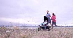 Burley Solstice Jogging Stroller - your new motivation to get up, get out and get active #Active, #Prams
