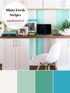 Integrate spring colors into your home with these inspired palettes from…