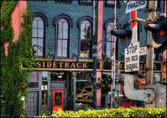 Sidetrack Bar & Grill in Depot Town, Ypsilanti.