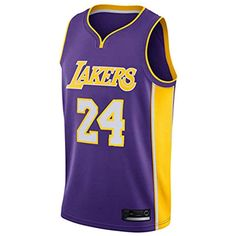 LinkLvoe Maillot NBA Lakers 23 Basketball, Maillot Hommes