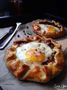 Галета к завтраку. Вкусный и сытный завтрак. Приятного аппетита! #едимдома #готовимдома #домашняяеда #рецепты #завтрак #кухня