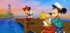 Mickey Minnie Mouse, Disney Mickey, Disney Art, Disney Stuff, Disney Films, Disney Characters, Duffy The Disney Bear, Tokyo Disney Resort, Mickey And Friends