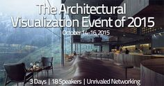 CGarchitect, the most recognized online community for architectural visualization professionals, is organizing an exclusive 3d architectural visualization event that will be held in the Westin Whistler Resort and Spa in Whistler, British Columbia from October 14th to October 16th 2015. http://www.sketchup4architect.com/3d-architectural-visualization-event-of-2015.html