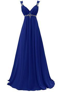 Sunvary 2015 Bridesmaid Dress Evening Dress for Wedding Long Chiffon US Size 2- Royal Blue Sunvary http://www.amazon.com/dp/B014XLK2WM/ref=cm_sw_r_pi_dp_uY43wb13EHCW1