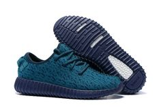 Kanye West Shoes Adidas Yeezy Boost 350 Green Blue Shoes For Kids