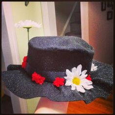 Mom to a Ladybug: DIY a Mary Poppins Hat, Spit-Spot!