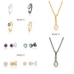 Jewelry in spring colors.  #silverjewellery #sterlingsilver  #giftideas #Needsjewellery